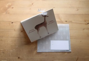CHRISTMAS CARD_deer
