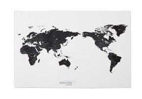 WORLD MAP ver.White&Black