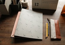 RING BINDER_deer