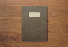 LINE NOTEBOOK(M)_brown