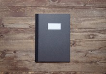 STITCH NOTEBOOK(M)_black