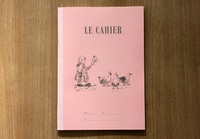 LE CAHIER (L)_Girl_Pink