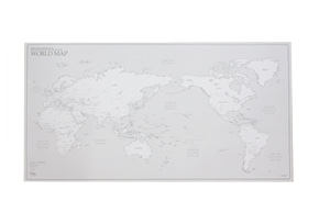 WORLD MAP ver. WHITE