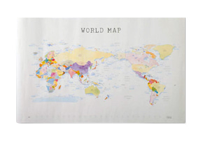WORLD MAP Ver. WATERCOLOR