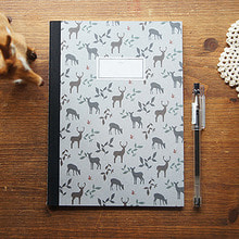 STITCH NOTEBOOK(M)_deer