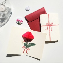 POP UP CARD_carnation
